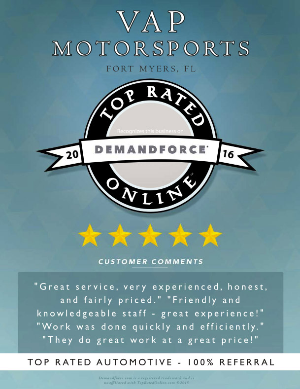 DemandForce 2016 Top Rated